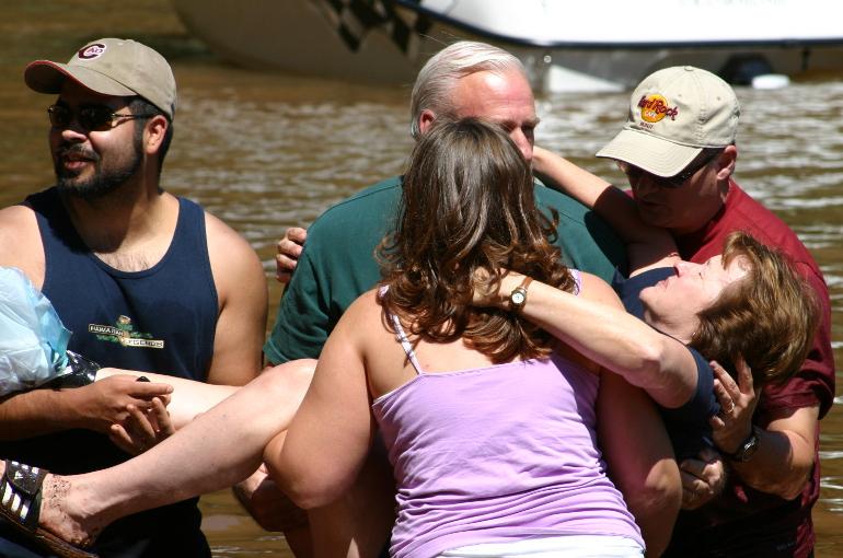 Sue Baptized
