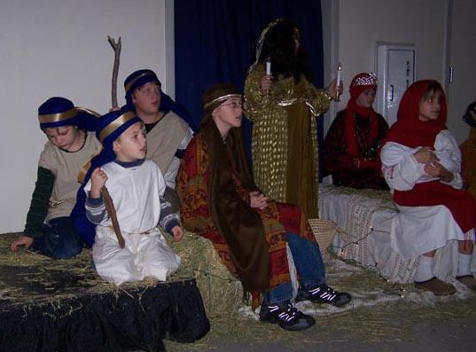 Touchstone First Christmas-Shepherds