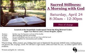 2021 Prayer Retreat